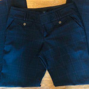 Anthropologie Cartonnier Plaid BOHO Trouser Pants